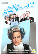 Are You Being Served? Series 2 (DVD cover).