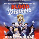 Blood Brothers 1995 cast recording (CD cover).