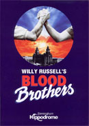 Blood Brothers (programme cover).