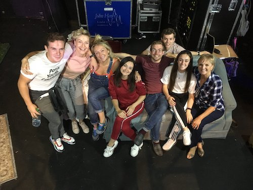 Lyn Paul and the 'Blood Brothers' cast in Cork, 6th August 2019.