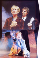 Photo of Lyn Paul from the Blood Brothers programme (Phoenix Theatre, 1999).