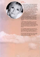 Biography of Lyn Paul from the Blood Brothers programme (Phoenix Theatre, 2003).