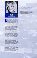 Biography of Lyn Paul from the Blood Brothers programme (Phoenix Theatre, 1998).