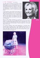 Biography of Lyn Paul from the Blood Brothers programme (Phoenix Theatre, 1999).