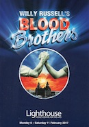 Blood Brothers, The Lighthouse, Poole (programme cover).