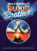 Blood Brothers' 25th anniversary souvenir brochure.