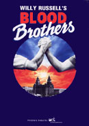 Blood Brothers programme.