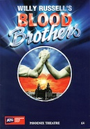 Blood Brothers, Phoenix Theatre (final programme cover, 29th October - 10th November 2012).
