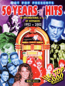 Fifty Years Of Hits (book cover).