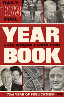 Daily Mail Year Book 1973 (front cover).