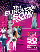 The Eurovision Song Contest: 50 Years, The Official History (book cover).