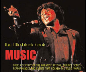 Music: The Little Black Book (front cover).