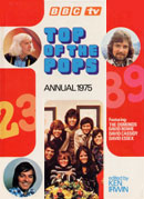 Top Of The Pops Annual 1975 (front cover).