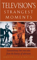 Television's Strangest Moments (book cover).