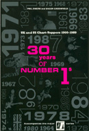 Thirty Years of Number 1s (book cover).