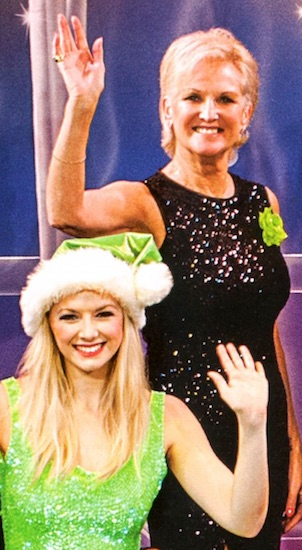 Lyn Paul and Holly Vernon Harcourt, The Cromer Christmas Show 2014.