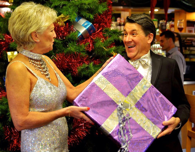 Lyn Paul and Olly Day, The Cromer Christmas Show 2014.