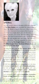 Biography of Lyn Paul from the 'Class Act 2' programme.