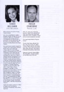 Biography of Nikki Belsher from the Footloose programme (De Montford Hall, 2007).
