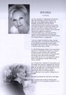 Biography of Lyn Paul from the Footloose programme (De Montford Hall, 2007).
