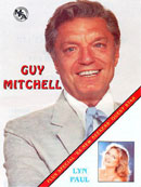 Guy Mitchell 1994 UK tour (programme cover).
