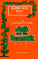 Jack And The Beanstalk (programme cover).