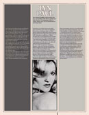 Biography of Lyn Paul from the Jack Jones 1975 UK tour programme.