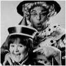 The Krankies pictured in the programme for Aladdin.