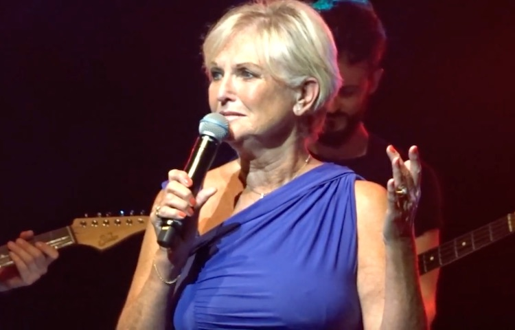 Lyn Paul at the Liverpool Empire, 18 July 2017.