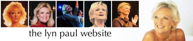 Lyn Paul website banner.