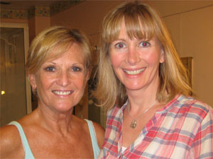 Lyn Paul and Paula Tappenden.