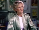 Lyn Paul as Anita Powell in 'Holby City'.