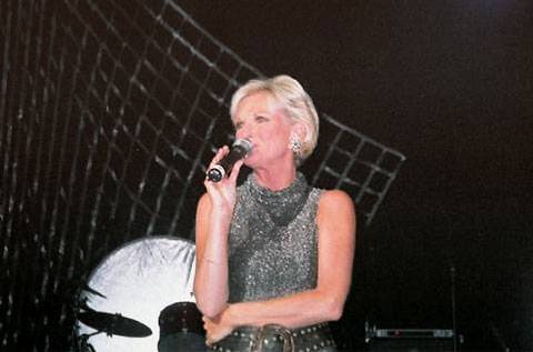 Lyn Paul at the Royal Albert Hall, 7th July 2002.