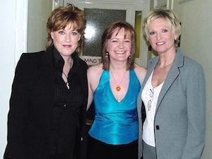 Katrina Leskanich, Nicki French and Lyn Paul.