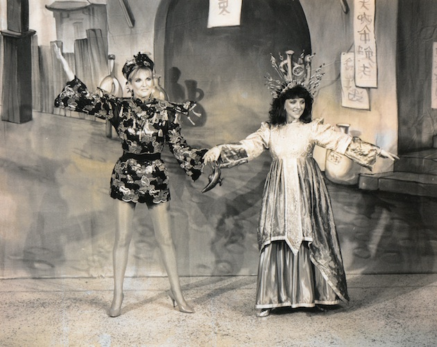 Lyn Paul in pantomime.