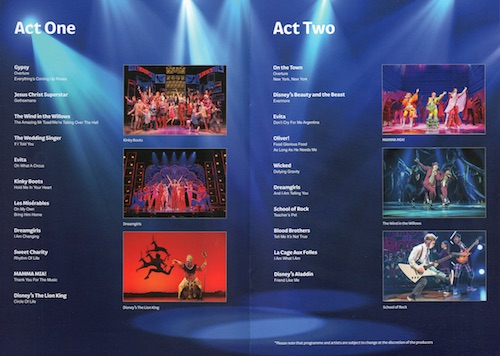 Magic at the Musicals - Act 1 and Act 2.