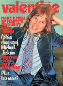Valentine, 16th December 1972 (front cover).