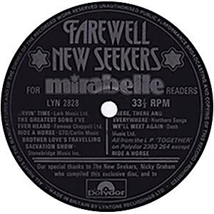 Lyn Paul Website New Seekers Collectors Items Flexi