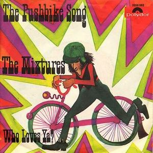 Pushbike Song (single cover).