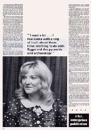 Biography of Lyn Paul from the New Seekers' 1973 tour programme (page 12).