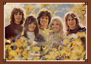 Photo of the New Seekers from the Farewell Tour programme.