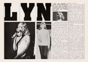 Biography of Lyn Paul from the Farewell Tour programme.