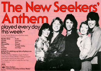 Advert for Anthem (One Day In Every Week).
