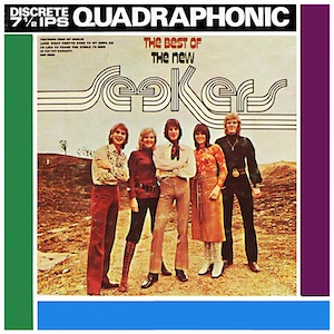 The Best Of The New Seekers (quadradisc cover).