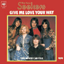 Give Me Love Your Way (German single cover).