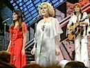 Eve Graham, Kathy Ann Rae and Marty Kristian on 'Top Of The Pops'.