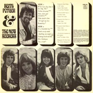 Keith Potger & The New Seekers (rear sleeve cover).