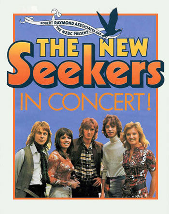 New Seekers In Concert (programme cover).