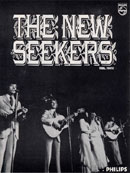 Advert for the New Seekers' début album from the Holiday Startime programme.