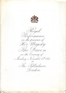 Royal Variety Performance (programme cover).
